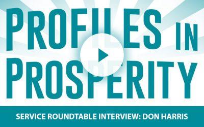 "Don's Directives – Service Roundtable's David Heimer Interviews ""DependableDon"" Harris"