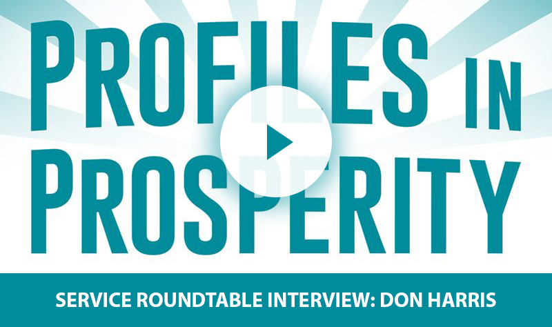 "Don's Directives – Service Roundtable's David Heimer Interviews ""DependableDon"" Harris"